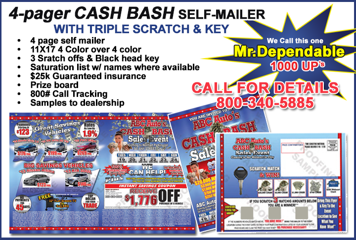 automotive direct mailers
